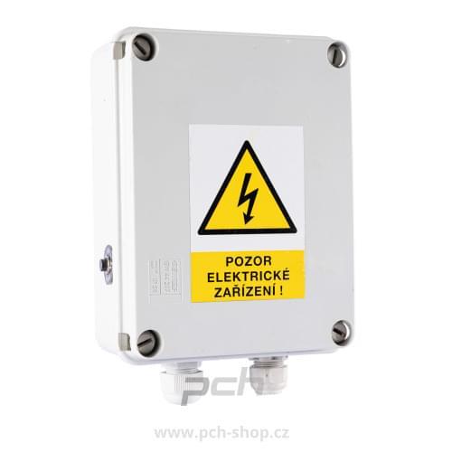 """Rozběhová krabice pro motor PCH 5"""" 1,1kW 230 V"""