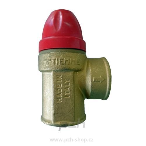Pojišťovací ventil 3/4'' 8 bar Tiemme